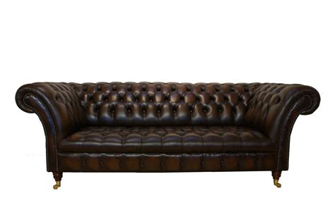 Chesterfield sofa leder  Chesterfield Sofa Leder. cherished chesterfield vintage brown ...