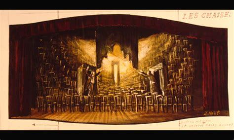 eugène ionesco les chaises décors et costumes de théâtre les chaises de eugène ionesco théâtre de l 39 alliance française 1962