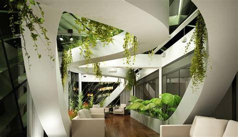 plante de bureau hotel indoor landscape design