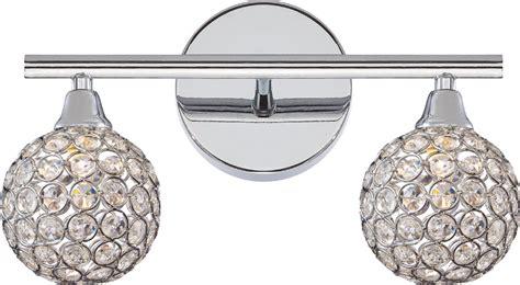 Bathroom Light Fixtures Polished Chrome by Quoizel Pcsr8602c Platinum Collection Shimmer Polished