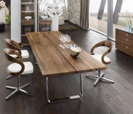 Luxury Natural dining table   TEAM 7 Nox   Wharfside