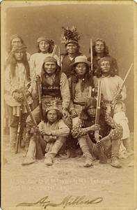 Geronimo  Sitting Bull And Other Native American Cabinet