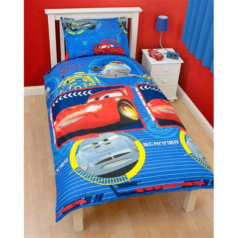 15646 cars bedroom set childrens disney and character single duvet cover sets