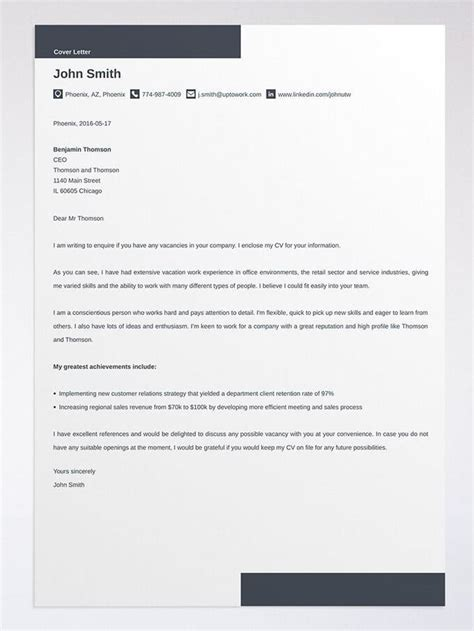 cover letter  cover letters    tips