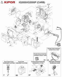 Kipor Generator  Ig2000