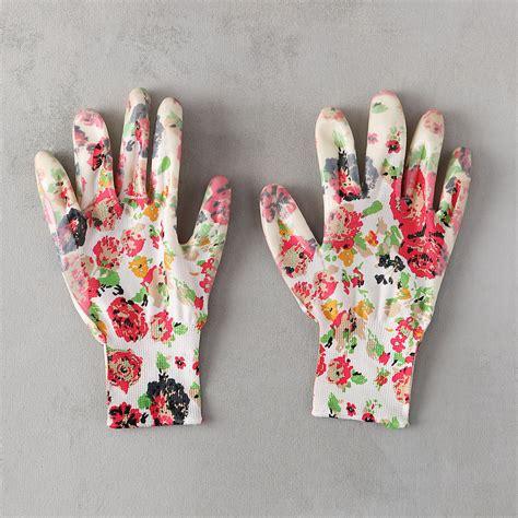 floral garden gloves terrain