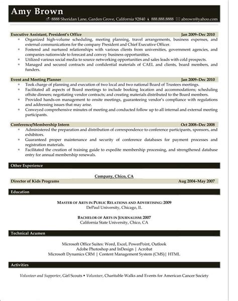 buyer resume sle template exle description key