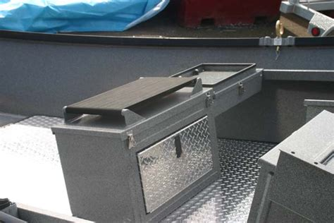 Willie Boat Seat Box by Custom Row Seat Box Willie Boats