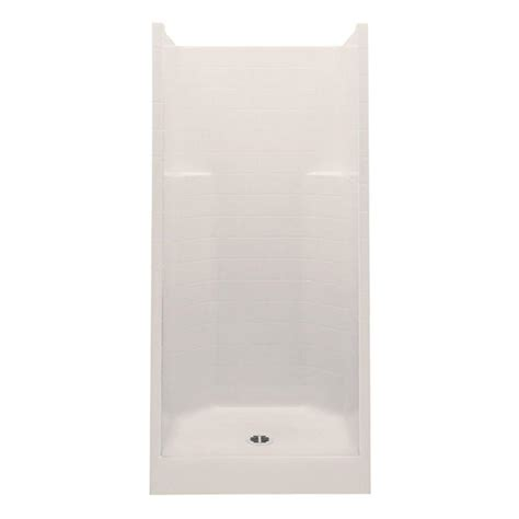 36 Shower Stall - aquatic everyday smooth tile 36 in x 36 in x 76 in 1