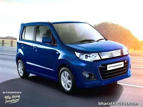 Maruti Suzuki WagonR Stingray launched at Rs. 4.10 lakh