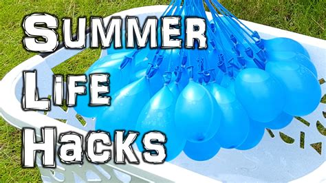 The Ultimate Summer Life Hacks Video Youtube