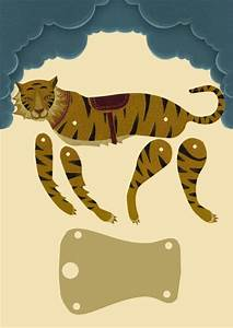 672 best paper dolls articulated images on pinterest for Tiger puppet template