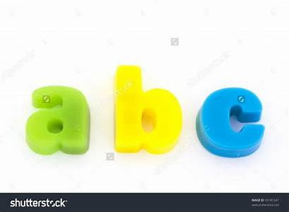 Magnetic Clipart Letter Letters Abc Yellow Clipground