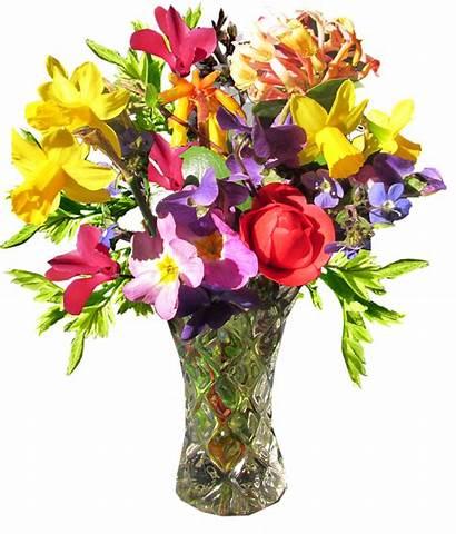 Vase Flower Bouquet Spring Clipart Flowers Roses