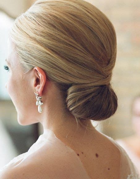 Classic Wedding Updo Hairstyles by Classic Chignon Updo Hairstyle Hairstyles For Medium Hair