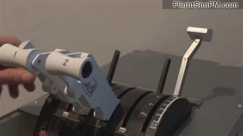 saitek throttle levers b 737 for sale