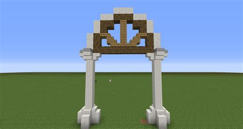 Garden Arch Blueprints by Better Arches Minecraft Minecraft Creations Minecraft