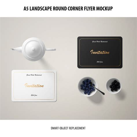 Free for personal and commercial use zip file includes: Free PSD | Invitation card mockup