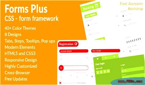 plus forms framework form css