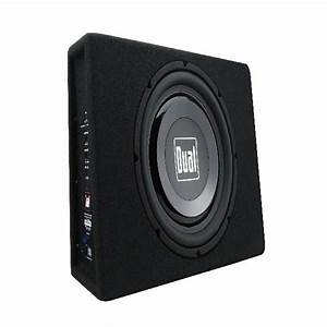 10 In  Powered Car Subwoofer High Performance With Built