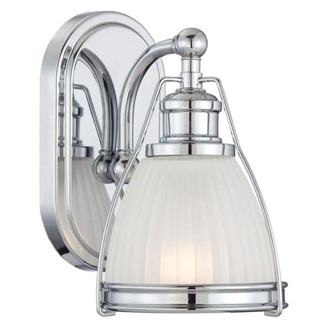 Bathroom Sconces Chrome by Minka Lavery 5791 77 Chrome 1 Light 9 Quot Height Bathroom