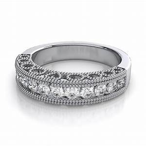 Wedding bands with diamond baguettes for Mens wedding rings baguette diamonds