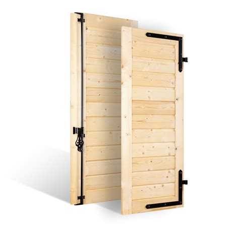 volets battants persienn 233 s 32mm 224 lames horizontales larges en bois volets sur mesure