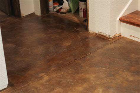 what of flooring can i put concrete how to acid stain concrete floors the prairie homestead