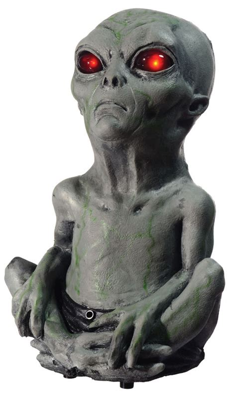 roswel alien baby motion activated realistic haunted house
