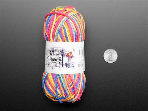 Rainbow Crafting Yarn ID: 4015 - $2.95 : Adafruit