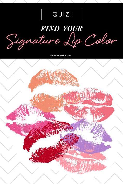 Mdc Quiz Find Your Signature Lip Color  It Is, Colors