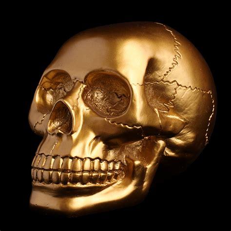 Crane Vanité by Gold Skull Vanity Curiosity Edemonium