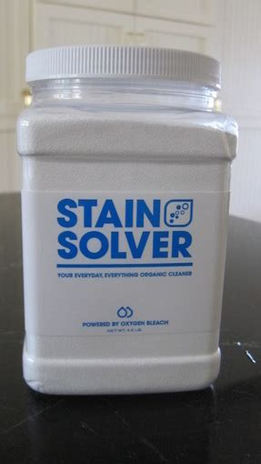 stain solver oxygen bleach  pounds stain solver
