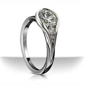 contemporary engagement rings ring settings ring settings for diamonds modern
