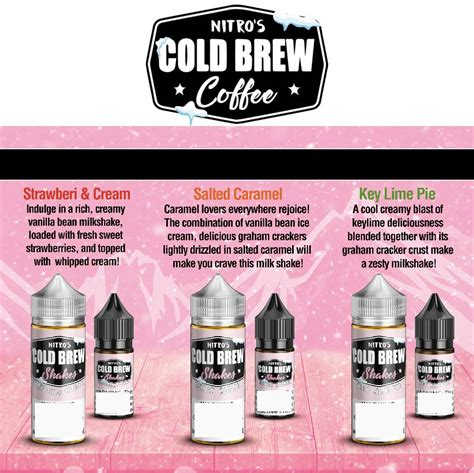 In a small bowl, stir together the water and instant coffee. 100ml ICED COFFEE MILKSHAKE by NITRO'S COLD BREW VAPE ...