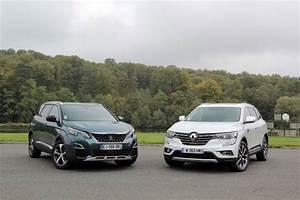 Renault Koleos 2017 Fiche Technique : comparatif vid o peugeot 5008 2017 vs renault koleos 2017 confirmation ou affirmation ~ Medecine-chirurgie-esthetiques.com Avis de Voitures
