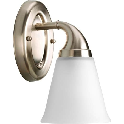 Lahara Faucet Home Depot by Progress Lighting Lahara Collection 1 Light Chrome Vanity