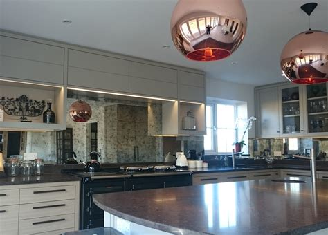 splashbacks for kitchen kitchens mirrorworks antique mirror glass from