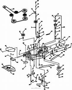 Bunton  Bobcat  Ryan 942601ca Crz Fr651v Kaw W  52 Side Discharge Parts Diagram For 52 U0026quot  Side