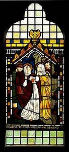 The Visitation Stained Glass
