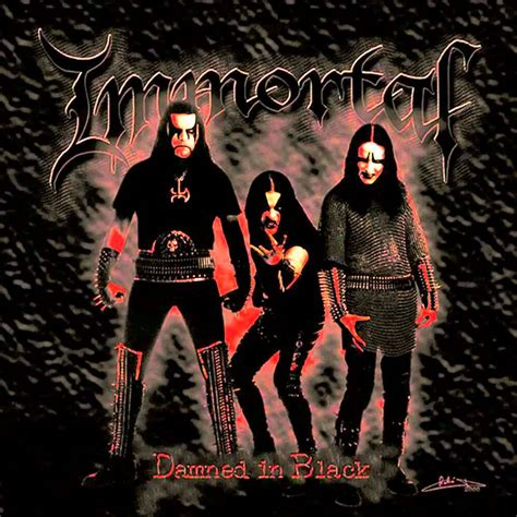 immortal damned in black hq