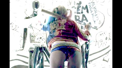 All Harley Quinn Scenes In Suicide Squad Sexy Youtube