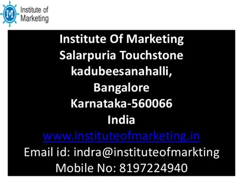Digital Marketing Courses In Bangalore by Digital Marketing Courses Bangalore