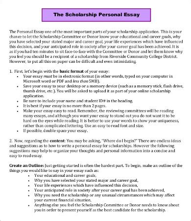 scholarship essay scholarship essay template 7 free word pdf documents free premium templates