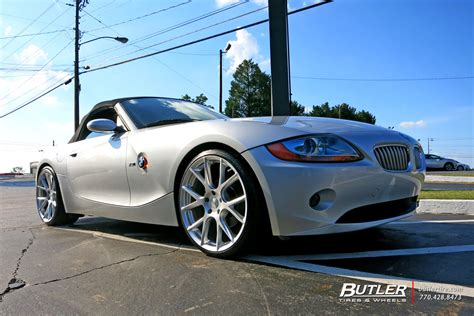 Bmw Z4 With 20in Vossen Vfs6 Wheels Exclusively From