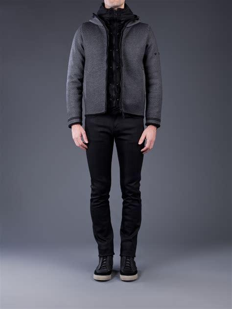 DesignApplause   Reflective knit jacket. Stone island.
