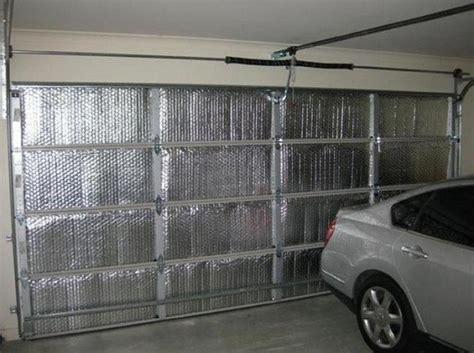 garage insulation doors reflective insulated foam door board choosing right rigid kit frames extra between