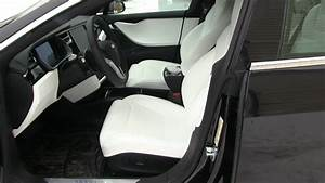 Tesla Model S 100D with ultra white seats - YouTube