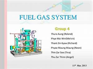 Fuel Gas System Of Gas Production