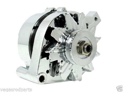 Alternator Chrome Ford Mustang Wire Amp